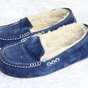 UGG Ansley Slippers 7.5 Prussian Blue